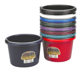 8 Quart Plastic Pail
