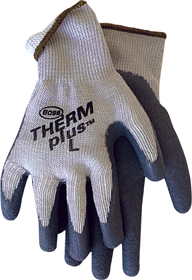 Lined String Knit Gloves