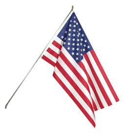 3'x5' Polyester U.S. Flag Kit