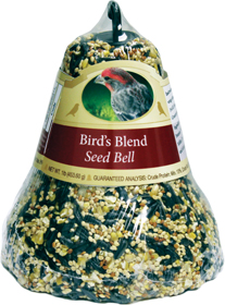 Wild Bird Blend Seed Bell or Wild Bird Nut & Berry Seed Bell